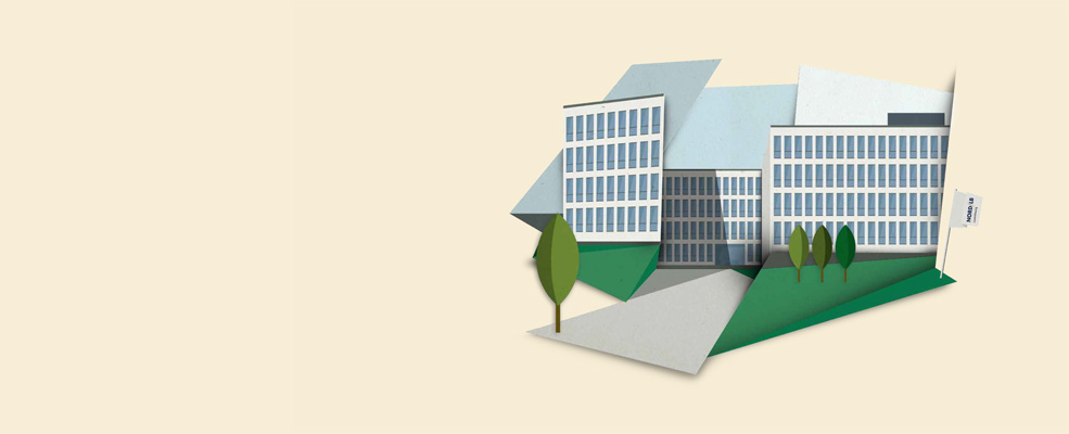 Illustration: Building of Nord/LB Luxembourg
